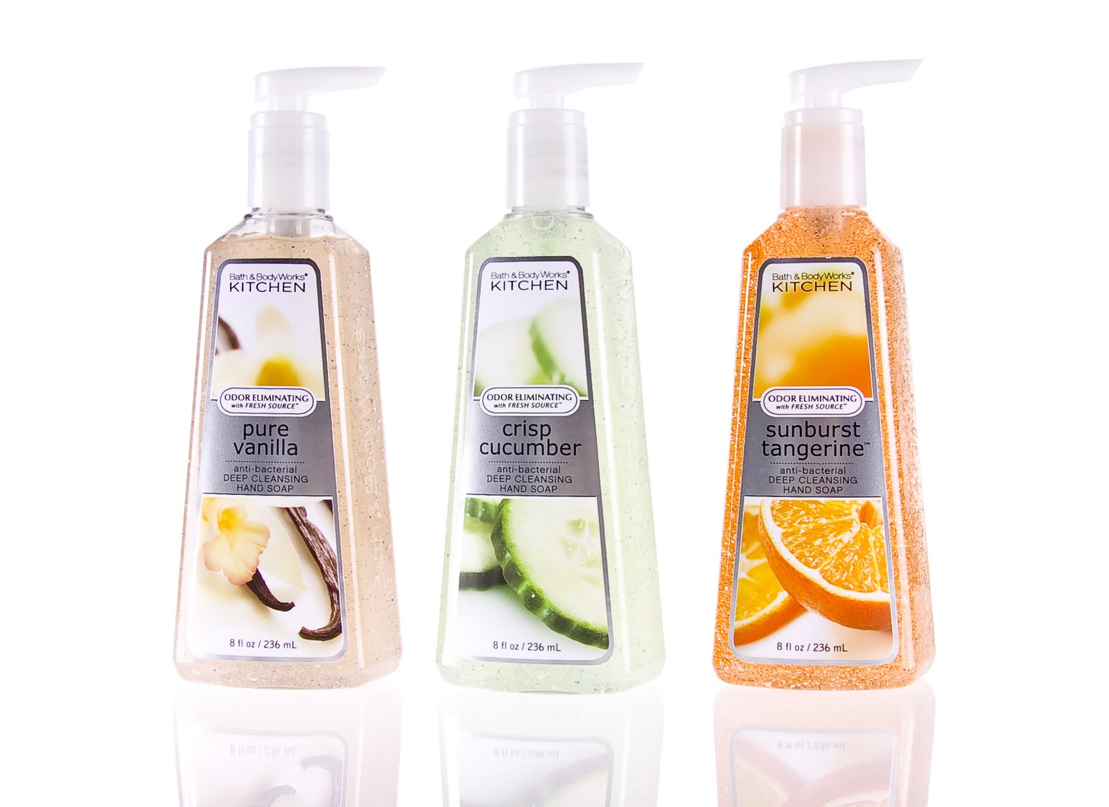 Bath Body Works Healthy Clean Kitchen Collection Spoiled Pretty