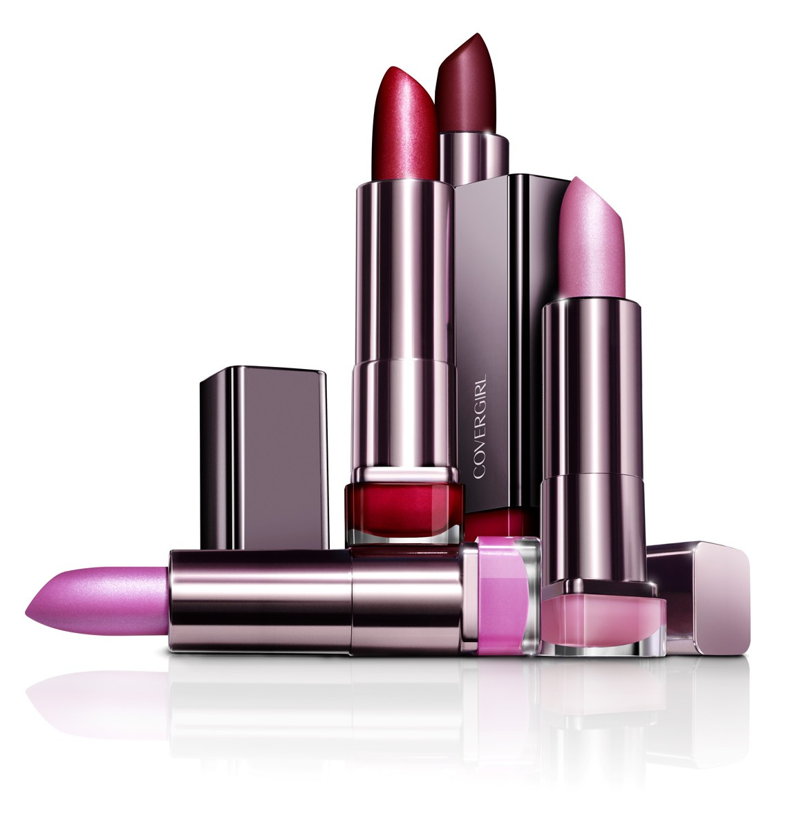 Beauty cosmetics for fall and winter - just trendy girls.